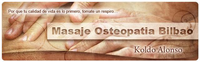 Masaje Osteopatia Bilbao Donostia - San Sebastian