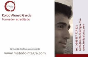 Koldo Alonso Garcia Formador Acreditado Metodo Integra Formando desde el Subconsciente